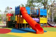 Фото 26 Покрытие для детских площадок из резиновой крошки: безопасность прежде всего
