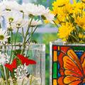 Роспись по стеклу витражными красками: мастер-класс по технике и 75 достойных воплощения идей фото