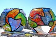 Фото 5 Роспись по стеклу витражными красками: мастер-класс по технике и 75 достойных воплощения идей