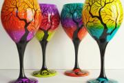 Фото 20 Роспись по стеклу витражными красками: мастер-класс по технике и 75 достойных воплощения идей