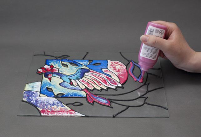 Краски на водной основе разбавлять нельзя, тем более красить ними на неровной поверхности