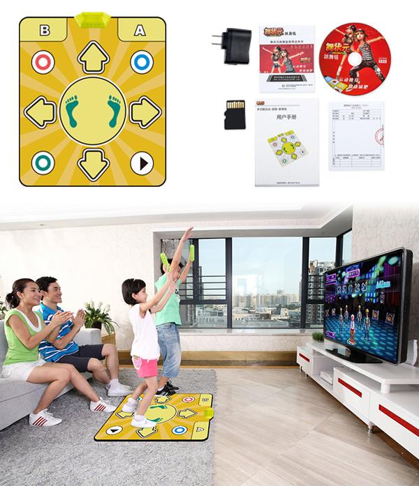 Коврики 32-битные комплектуются дополнительной картой памяти. Этот вариант подойдет для игр и танцев всей семьи, хотя обойдется дороже, чем 8-битная модель