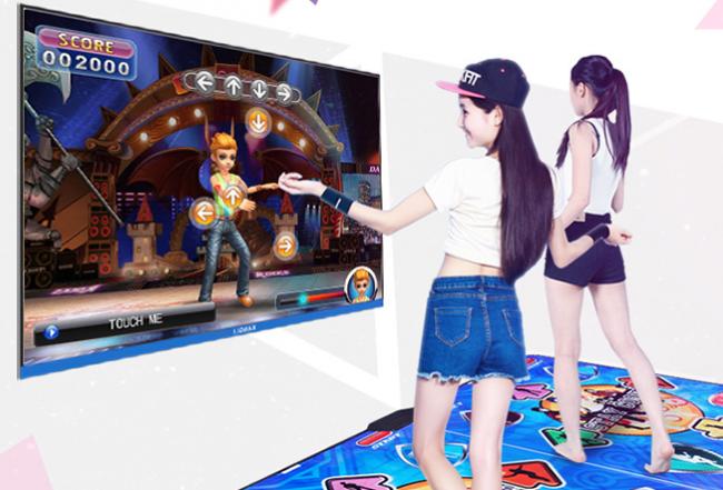 Современные модели танцевальных ковриков позволяют играть в сложные игры с HD графикой