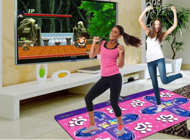Универсальные танцевальные коврики - самый простой способ поддерживать себе в форме