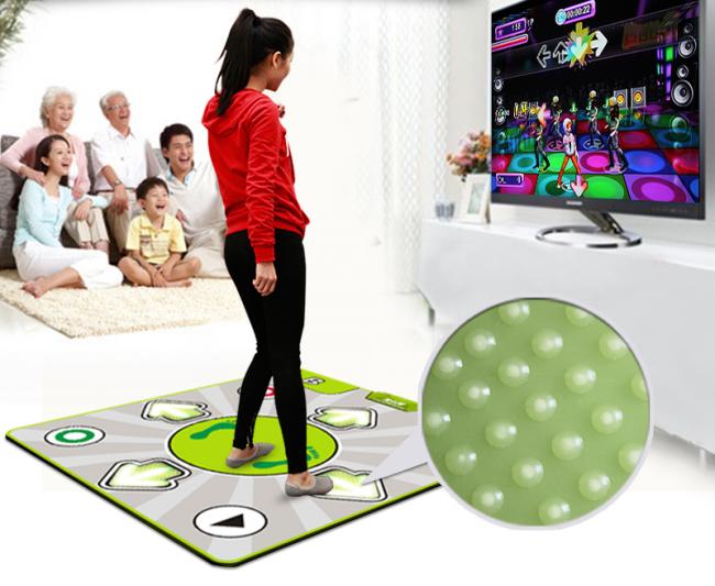 Танцевальный коврик с прорезиненной основой - доступный вариант для домашних занятий танцами