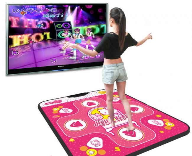 Танцевальные коврики с подключением к телевизору пользуются огромным спросом