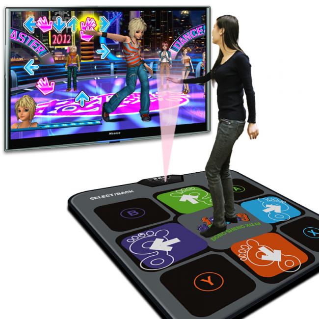 танцевальный коврик с подключением к телевизору: купить танцевальную платформу вместо обычного коврика лучше семьям, где часто принимают гостей