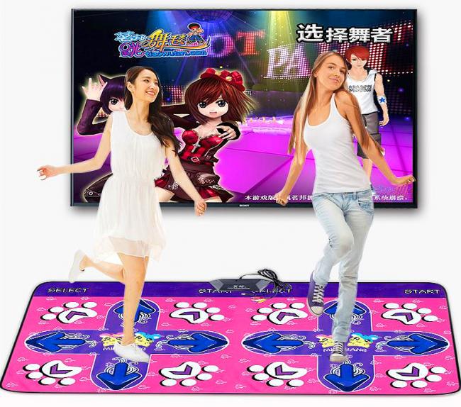 Танцевальные коврики с подключением к телевизору все больше набирают популярности