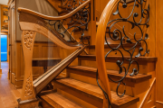 Фото 17 Трехмаршевая лестница: как самостоятельно сделать расчёт и 70+ готовых вариантов