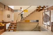 Фото 7 Трехмаршевая лестница: как самостоятельно сделать расчёт и 70+ готовых вариантов