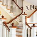 Трехмаршевая лестница: как самостоятельно сделать расчёт и 70+ готовых вариантов фото