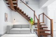 Фото 5 Трехмаршевая лестница: как самостоятельно сделать расчёт и 70+ готовых вариантов