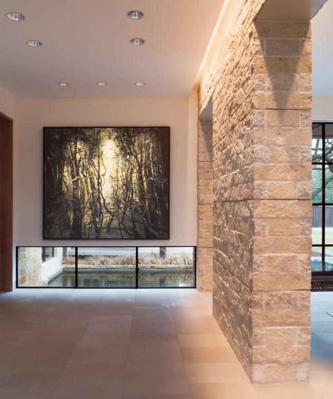 живая природа: картины - широкая современная картина в просторном холле