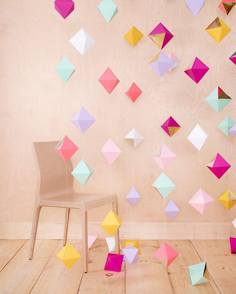 Гирлянды из бумаги своими руками 80 Потрясающих Идей