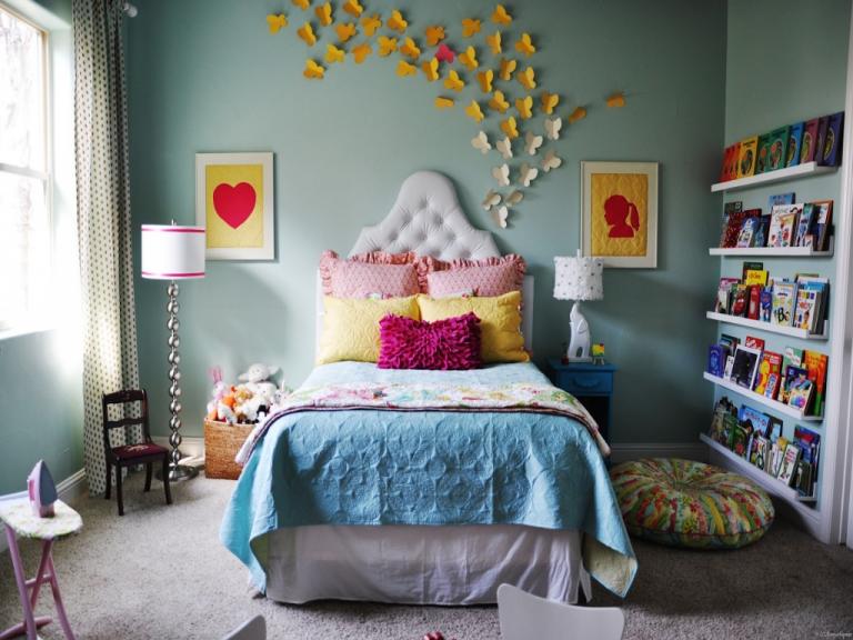 Красивая комната для девочки подростка своими руками 72