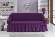 Фото 7 Еврочехлы на диваны и кресла: как вдохнуть новую жизнь в мягкую мебель? (90+ практичных моделей)