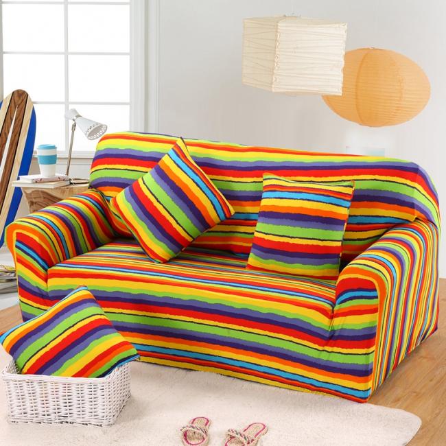 Яркий красивый еврочехол поднимет настроение и сохранит вашу мебель