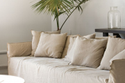 Фото 28 Еврочехлы на диваны и кресла: как вдохнуть новую жизнь в мягкую мебель? (90+ практичных моделей)