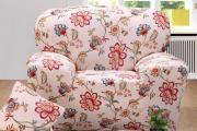 Фото 32 Еврочехлы на диваны и кресла: как вдохнуть новую жизнь в мягкую мебель? (90+ практичных моделей)