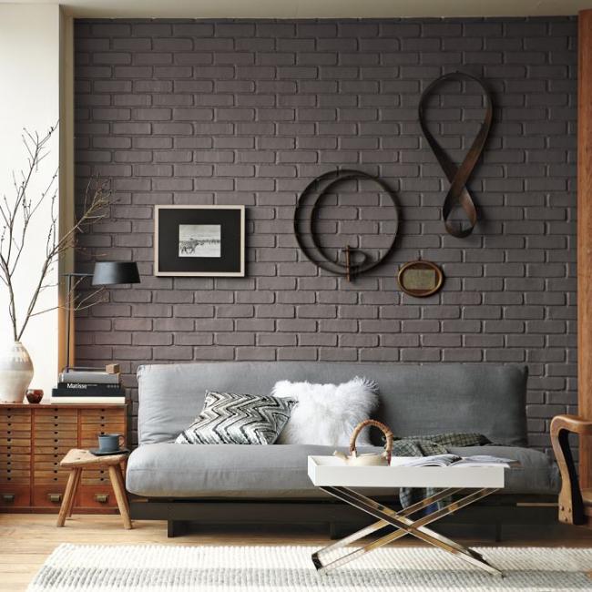 Чехол на резинке для дивана без подлокотников