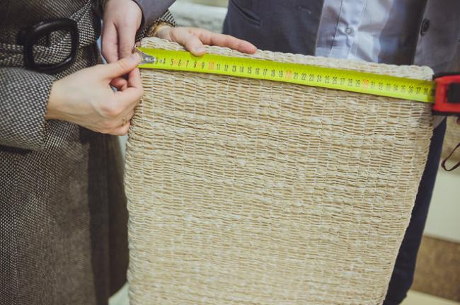 Грамотно снятые замеры помогут максимально точно подобрать еврочехол для мебели