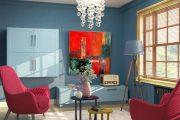 Фото 4 Корпусная мебель для гостиной в современном стиле: обзор 90+ трендовых решений