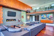 Фото 6 Корпусная мебель для гостиной в современном стиле: обзор 90+ трендовых решений