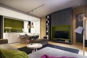 Фото 13 Корпусная мебель для гостиной в современном стиле: обзор 90+ трендовых решений