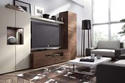 Фото 14 Корпусная мебель для гостиной в современном стиле: обзор 90+ трендовых решений