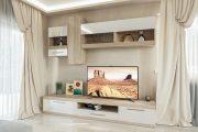 Фото 17 Корпусная мебель для гостиной в современном стиле: обзор 90+ трендовых решений