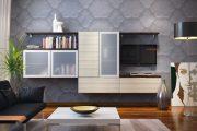 Фото 20 Корпусная мебель для гостиной в современном стиле: обзор 90+ трендовых решений