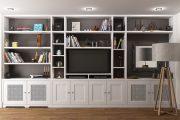 Фото 21 Корпусная мебель для гостиной в современном стиле: обзор 90+ трендовых решений