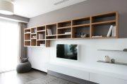 Фото 24 Корпусная мебель для гостиной в современном стиле: обзор 90+ трендовых решений