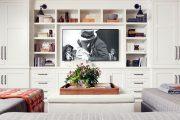 Фото 25 Корпусная мебель для гостиной в современном стиле: обзор 90+ трендовых решений