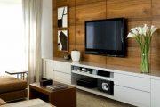 Фото 27 Корпусная мебель для гостиной в современном стиле: обзор 90+ трендовых решений