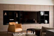Фото 29 Корпусная мебель для гостиной в современном стиле: обзор 90+ трендовых решений