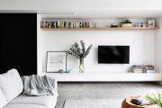 Фото 31 Корпусная мебель для гостиной в современном стиле: обзор 90+ трендовых решений