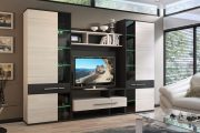 Фото 32 Корпусная мебель для гостиной в современном стиле: обзор 90+ трендовых решений