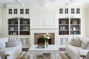 Фото 34 Корпусная мебель для гостиной в современном стиле: обзор 90+ трендовых решений