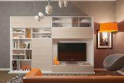 Фото 36 Корпусная мебель для гостиной в современном стиле: обзор 90+ трендовых решений