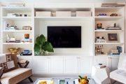 Фото 40 Корпусная мебель для гостиной в современном стиле: обзор 90+ трендовых решений