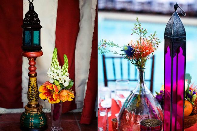 Марокканская тематика свадьбы создаст экзотичную атмосферу