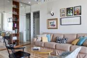 Фото 2 Перепланировка хрущевки на две смежные комнаты: возможные варианты и лучшие интерьерные решения