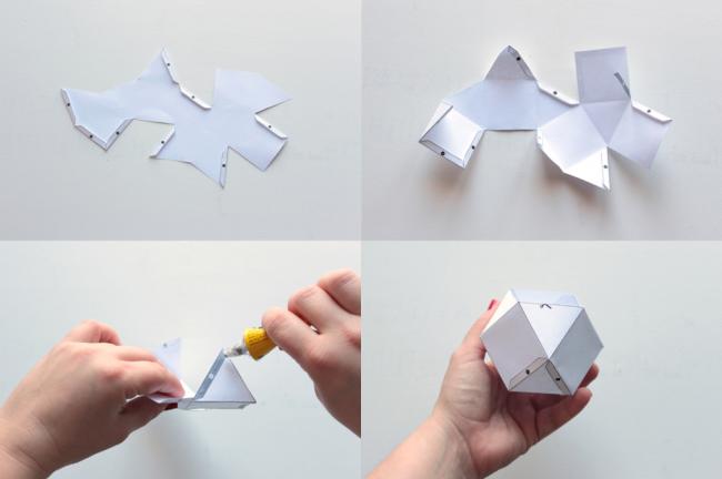 Создание формы для свечи по шаблону №2