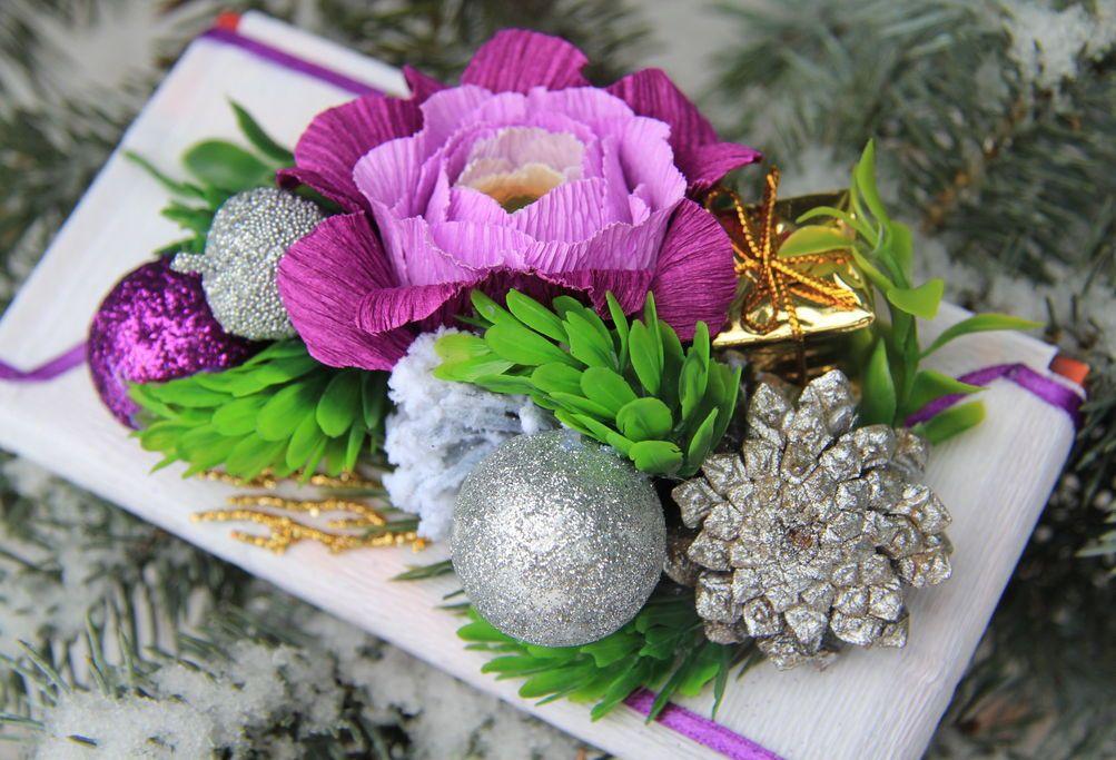 Цветы из гофрированной бумаги своими руками Мастер-класс 2018