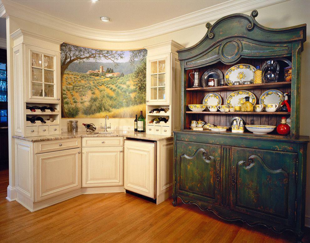 Дизайн сервантов на кухне