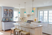 Фото 25 Буфеты для кухни: 100 уютных идей в стиле кантри, прованс и шебби-шик