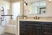 Фото 17 Настенные держатели для душа: как выбрать оптимальную модель для ванной?