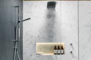 Фото 23 Настенные держатели для душа: как выбрать оптимальную модель для ванной?