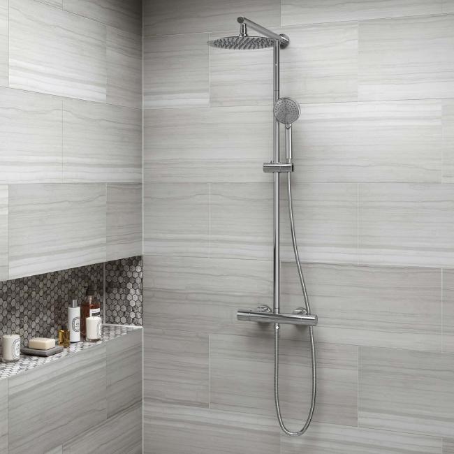 Двойная конструкция - стационарный и съемный душ в одном флаконе